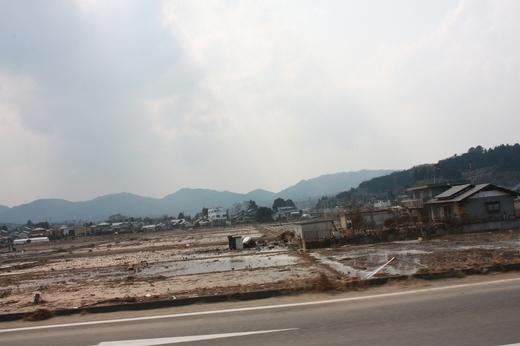 山元町坂元付近の状況2