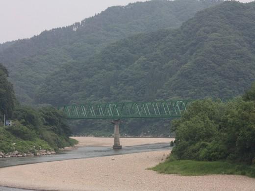 阿武隈急行の鉄橋