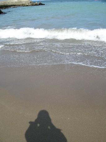 晴れた日の海5