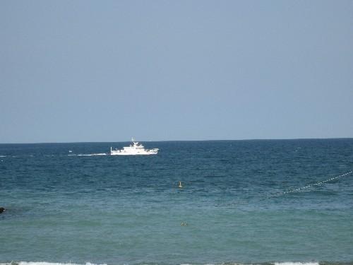 晴れた日の海3