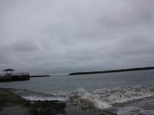 雨上がりの相馬港