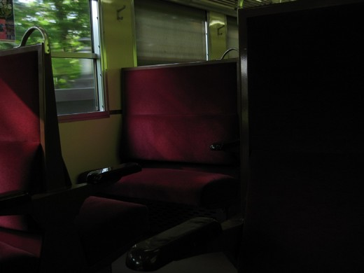 阿武隈急行線 車内風景